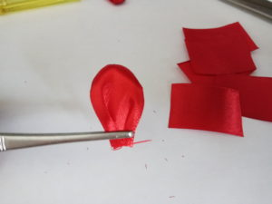 как сделать тюльпаны канзаши своими руками мк мастер класс
