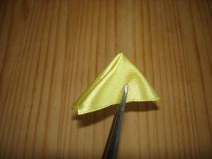 тройной острый лепесток канзаши мастер класс многослойный лепесток