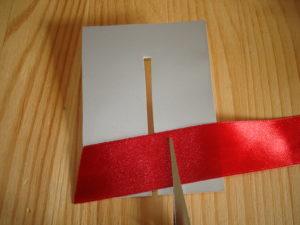 простой бантик из атласной ленты своими руками для начинающих сделать