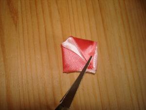 плоские лепестки канзаши мастер класс плоский круглый лепесток канзаши