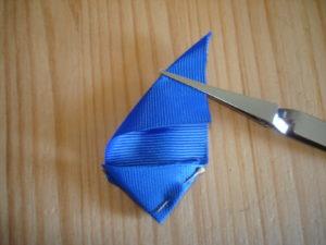 канзаши синего цвета