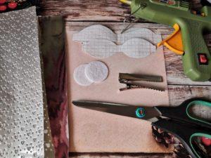 МК бантиков из экокожи